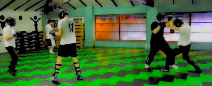 Arti Marziali Torino, video sparring con caschetti