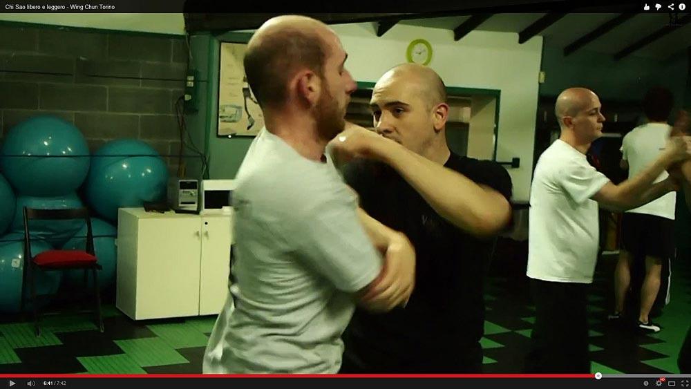 Dal Nuk Sao al Chi Sao, uno studio sulla tecnica del Wing Chun