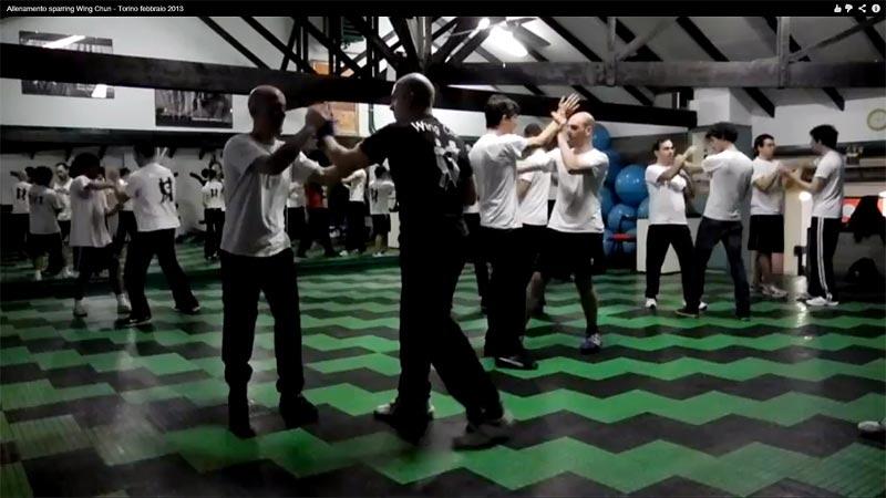 Sparring Wing Chun - allenamento leggero e controllato